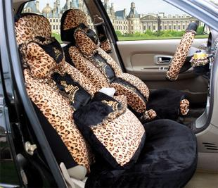 Car Seat Cove Leopard Cover Korea Four Seasons Universal Short Plush Lace Online With 1079 Piece On Meilirenwu007s Store