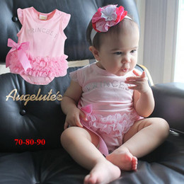 Wholesale Girls Princess Underwear - Summer Girls Princess Baby Diamond Romper Girl Onesies Bodysuit Girl Rompers Baby Underwear 10pc lot