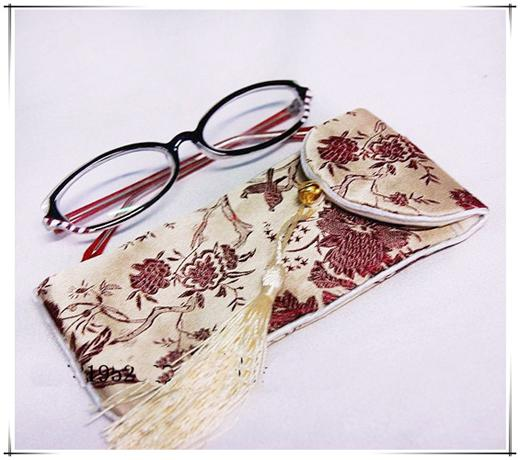 Cheap Silk Cloth Eyeglass Case Bag For Glasses Pouch Pocket Packaging Soft  Tassel Eyewear Storage Bags Mobile Phone Pouch For Belt Old Glasses Order  ...