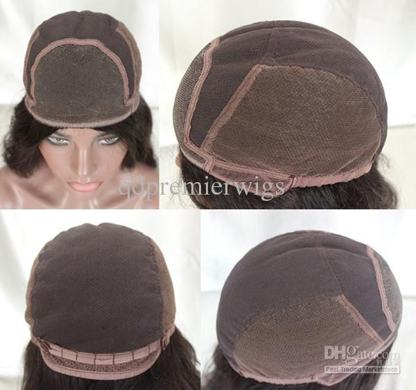 인도 사람 remy 머리 머리 Glueless 레이스 가발 흑인 여성을 위한 조정가능한 결박을 가진 측면에 빛 yaki 자연적인 색깔