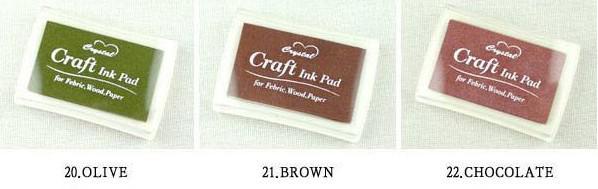 Crystal Craft Ink Pad / Kleurrijke Cartoon Inkt Pad / Inkt Stamp Pad / Good voor DIY Funny Work