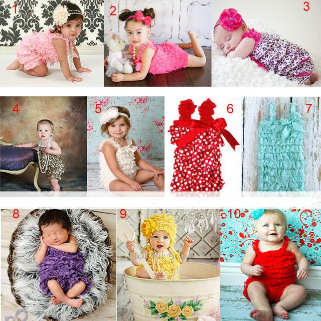 e0543be65c71 2019 Baby Rompers Girls Petti Rompers Infants One Piece Baby Bubble Romper  Lace Romper Baby Tutu Clothing From Love fashionshop