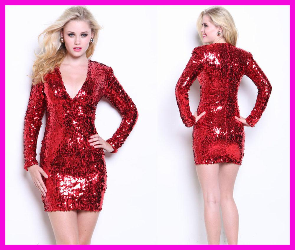 Red Sparkly Dress