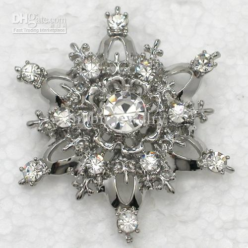 12pcs/lot Wholesale Crystal Rhinestone Bridesmaid Wedding party prom Brooches Fashion Costume Flower Pin Brooch Jewelry gift C461