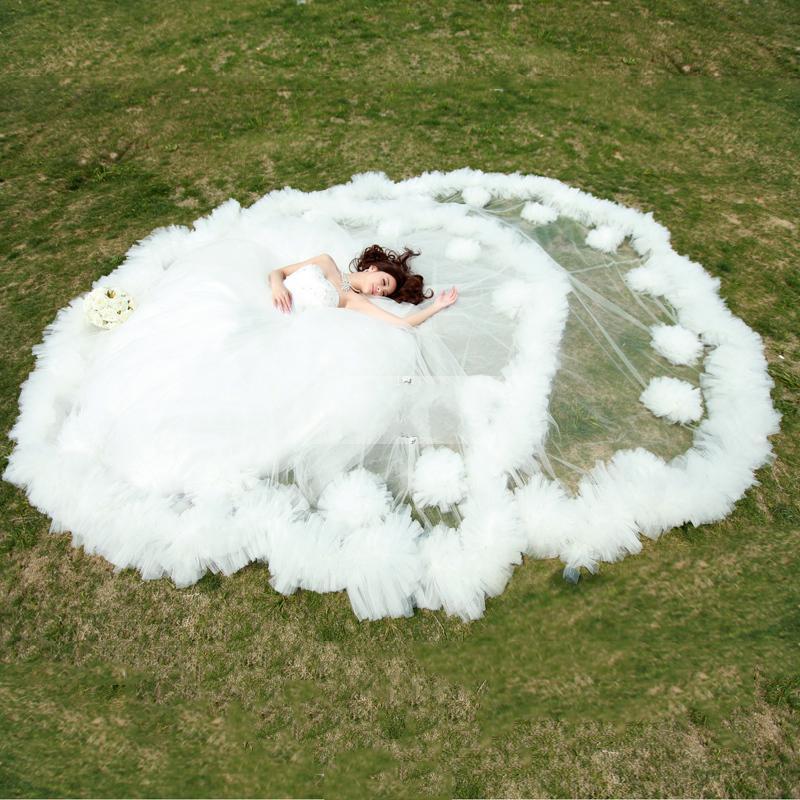 2013カスタム豪華な恋人帝国の床の長さのウェディングドレス