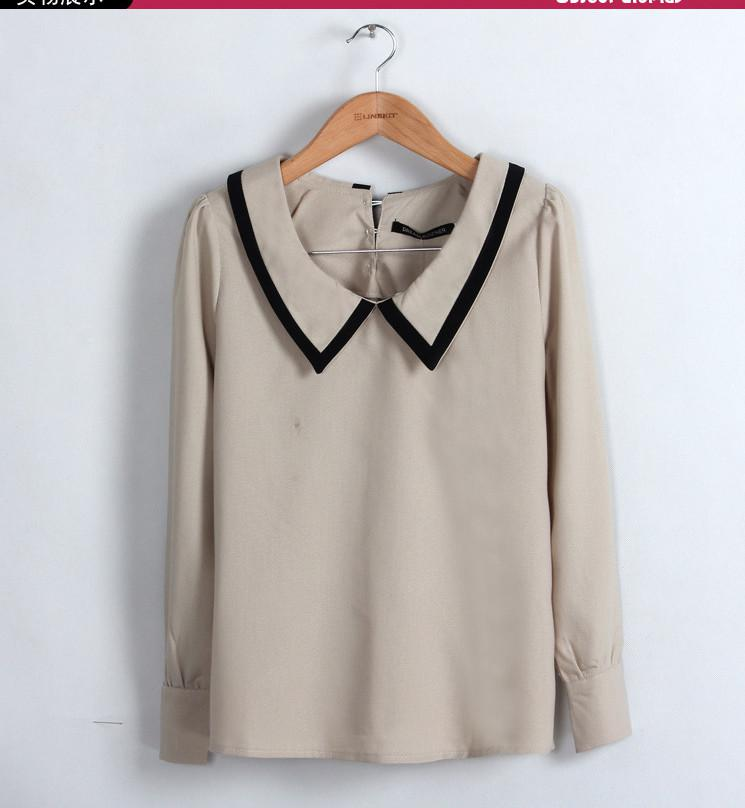 Original Womenu0026#39;s Oxford Style Long Sleeve Blouse | Executive Apparel
