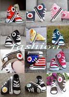 gehäkelte baby-turnschuhe großhandel-15% Rabatt! Crochet Schuhe Sandalen / Baby Krippe Schuhe Taufe Schuhe Schuhe / Kleinkind Schuhe / häkeln Baby Sneakers! 12pairs (24pcs)
