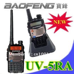 Wholesale Dtmf Handheld Radio - Baofeng New UV 5RA Ham Two Way Radio 136-174 400-480 MHz Dual-Band DTMF CTCSS DCS FM 5W Amateur Radi