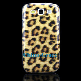 Wholesale Wholesale Cheap S3 Covers - Cheap Price Plastic Leopard Hard Skin Back Case Cover For Samsung Galaxy S 3 S3 i9300 E148