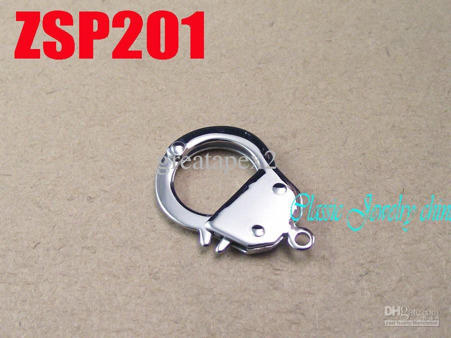 KUNAFIR Nouvelle arrivée en acier inoxydable collier pièces vente chaude par petit argent menottes accessoires bijoux zsp201
