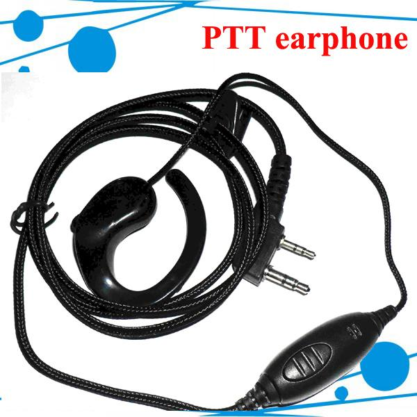 10pcs / серия DHL Freeshipping удобная Talky наушника ДЛЯ Walky Talky TK2307 TK 2207 TK 3107 TK-2107