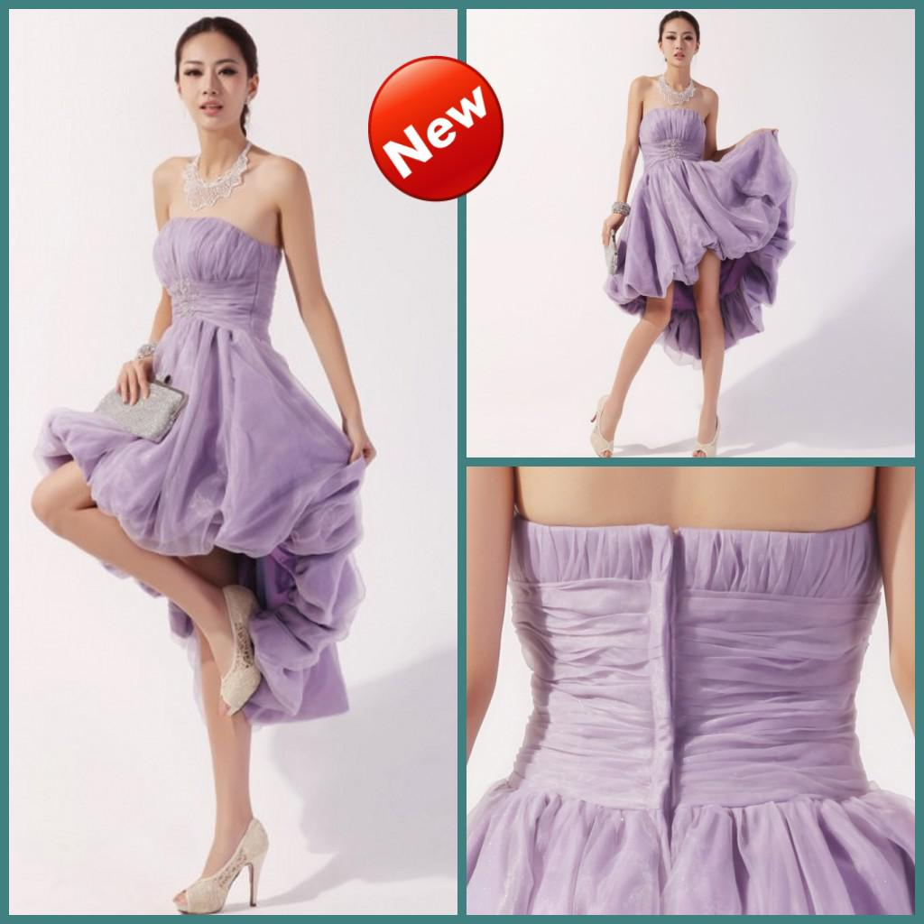 2013 strapless ball gown bubble short bridesmaids dress high low 2013 strapless ball gown bubble short bridesmaids dress high low lavender beaded sequin bridal party green bridesmaids dresses halter bridesmaid dresses ombrellifo Gallery