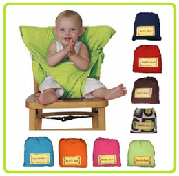 2013 Top Good! Baby sack'n seat Baby Eat chair Seat belt kiskise Portable eat chair belt sack'n seat