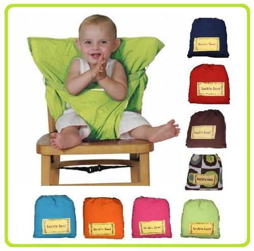 top popular 2013 Top Good! Baby sack'n seat Baby Eat chair Seat belt kiskise Portable eat chair belt sack'n seat 2021
