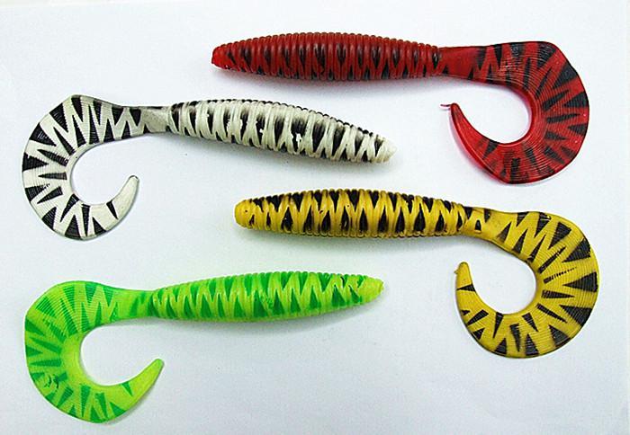 Ny ankomst Mjuka Baits Fiske Lures Bra form Design Högkvalitativ 16cm / 23g Flera färg