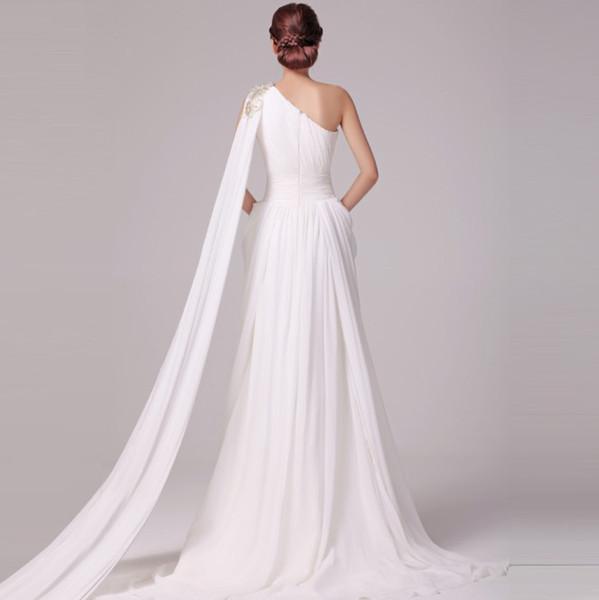 Super 2013 dea greca Guaina Abiti da sposa colorati che borda Sequns  JI84