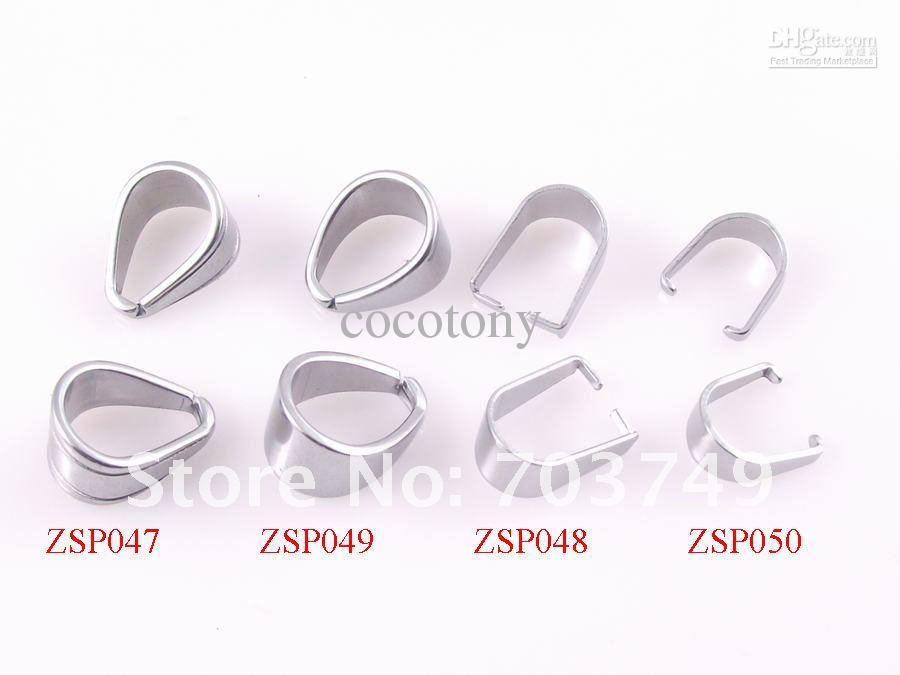 Nueva Crisscross dientes 6.7mm acero inoxidable gancho hebilla colgante accesorios de joyería piezas de bricolaje 300 unids