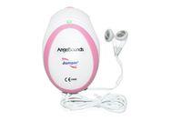 Wholesale Doppler Gel - 10XFree Gel Angelsounds Fetal Prenatal Heart Rate Monitor Doppler 3MHz Baby sound FDA & CE Approved