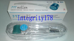 Discount derma roller ce - High quality FDA and CE certificate MT 192 micro needle derma roller, 192 needles dermaroller,250pcs lot