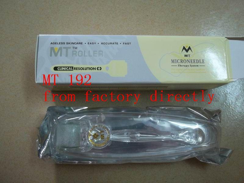 HOT 10 pçs / lote MT 192 agulha de aço inoxidável derma roller para remoção de rugas, micro agulha dermaroller