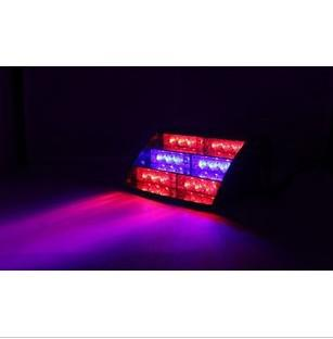 18LED STROBE LIGHTS, NÖDLED LED LIGHT, röd / blå färg, 4-6W, gratis frakt