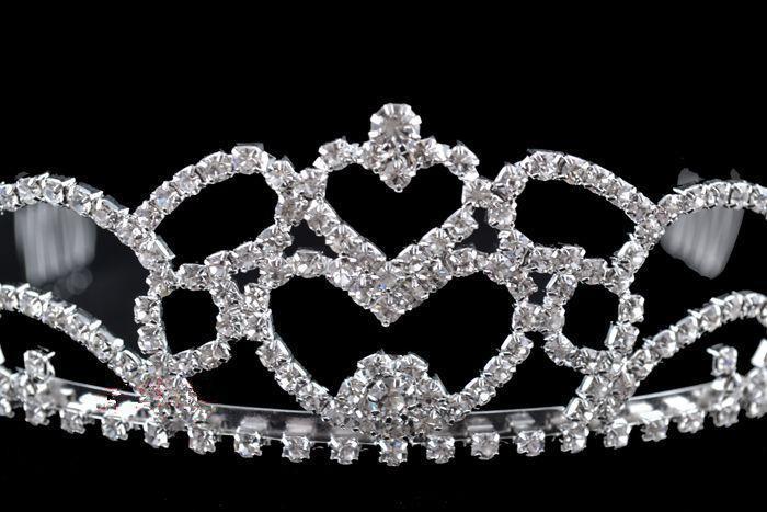 Estoque frete grátis nobre romântico três peças colar coroa tiara brincos conjuntos de noiva de casamento
