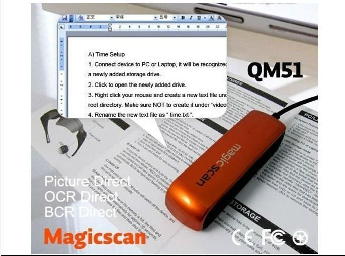 Best Price Portable Mini Scanner Usb Name Card Scanner Film Scanner Magic Scan Magicscan Qm51 300dpi