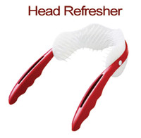 Wholesale Scalp Acupuncture Points Massage Comb Refreshing Massager Hair Combs Dandruff Brush