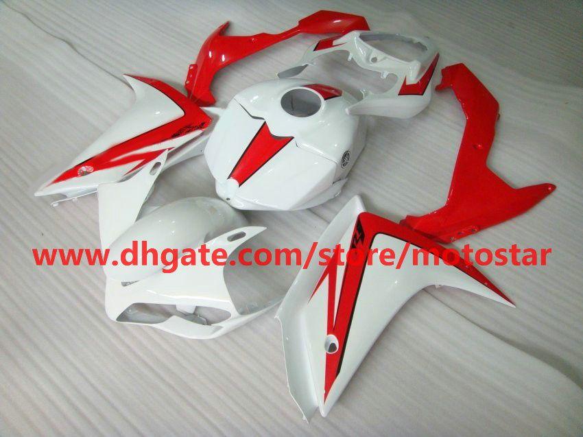 red white bodywork moto fairing for YAMAHA 2007 2008 YZF-R1 07 08 YZFR1 YZF R1 fairings kit R17C