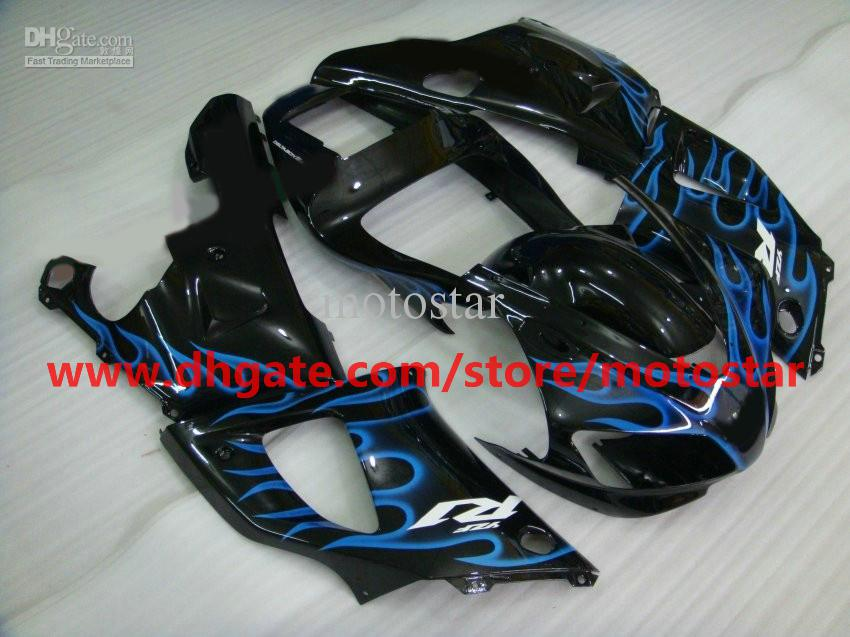 blue flame High grade fairing for YAMAHA 1998 1999 YZF-R1 98 99 YZFR1 YZF R1 fairings body kit A3R1