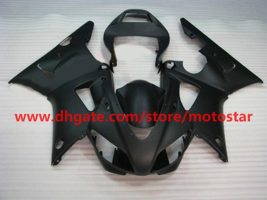 フラットブラックボディキットフェアリングヤマハ1998 1998 1999年YZF-R1 98 99 YZFR1 YZF R1フェアリングボディキットBA2R1