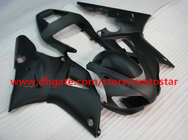 flat black body kit fairing for YAMAHA 1998 1999 YZF-R1 98 99 YZFR1 YZF R1 fairings body kit BA2R1