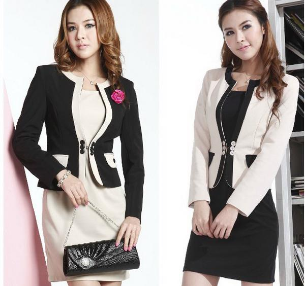 2017 New Arrival! Office Lady Formal Women Suit Blzer   Skirt ...