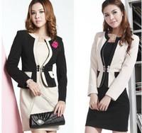 Wholesale Ladies Dress Skirt Suits - New Arrival! Office Lady Formal Women Suit ( Blzer + Skirt ) DRESS SUITES Fashional Elegant