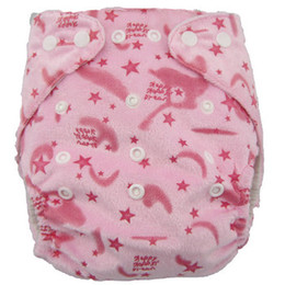 Wholesale Cloth Diapers Double Row - New Coming Organic Cotton Baby Diapers 15pcs Without Insert One Pocket Diapers Double Row Snaps