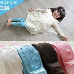 Wholesale Beige Lace Leggings - Wholesale kids lace patch girls  boy Leggings cotton 5 pcs lot,hot sell