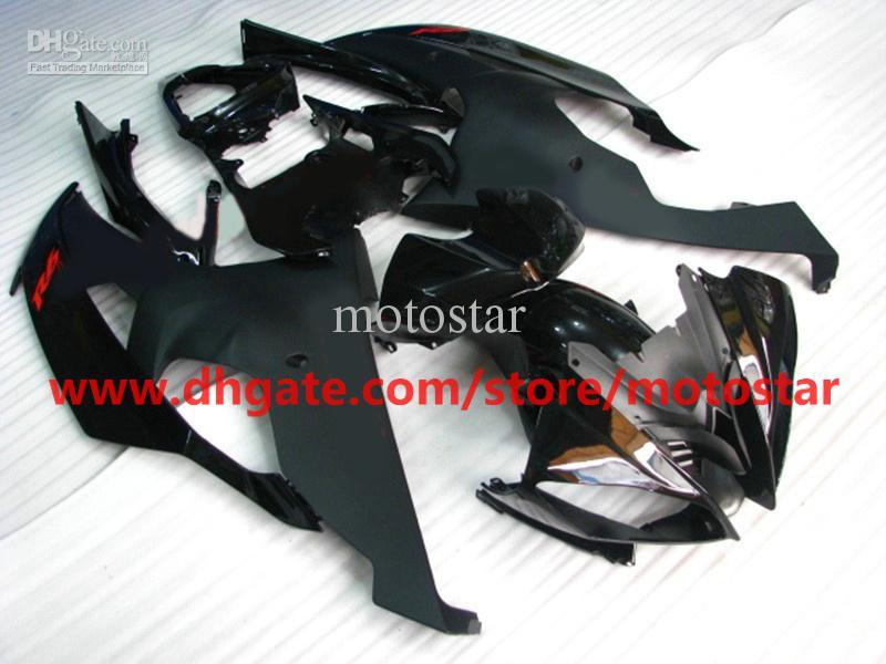 Mattschwarze Bodywork-Verkleidungen für YZF R6 2008 2009 2010 YZF-R6 08 09 10 YZFR6 600 YZF600 Verkleidungsset