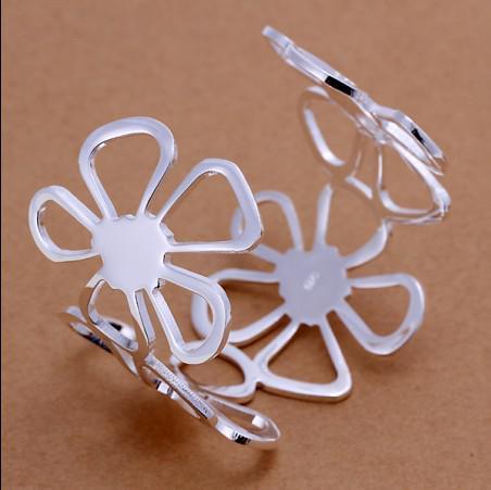 Haute qualité plaqué en argent sterling 925 le Clover bracelets mode bijoux livraison gratuite /