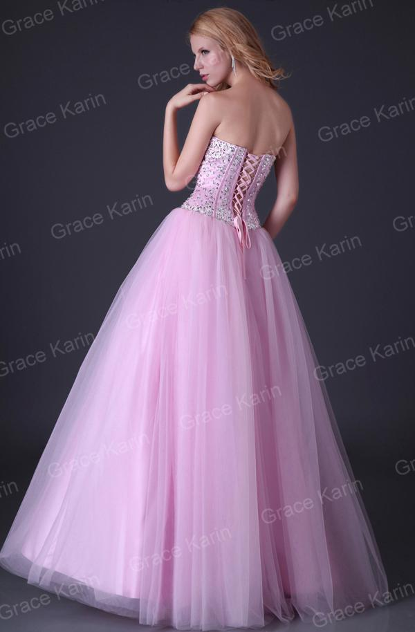 Grace Karin New Arrival Shining Beading Corset Style Party Prom ...