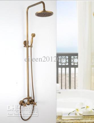 Brass Bathroom Shower Faucet Setbronze Color Bathroom Faucet - Brass colored bathroom faucets