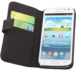 Wholesale Doormoon Case - High Quality Leather case for Samsung Galaxy Premier i9260,Doormoon 100%Real cowhide case cover,Free