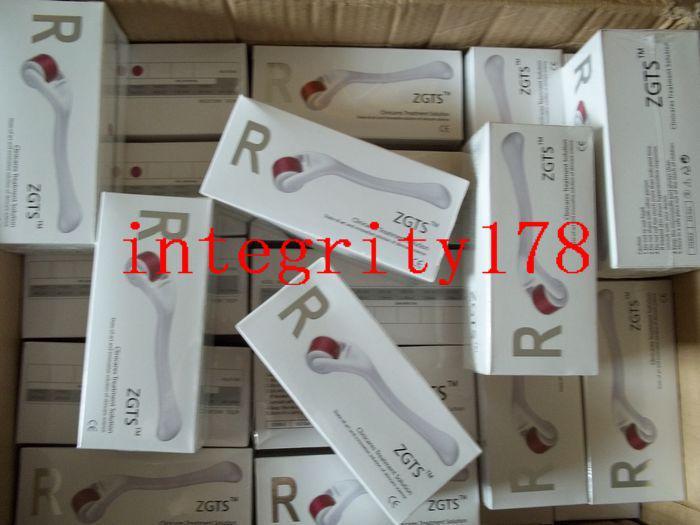 Rouleau de Derma d'aiguilles de l'alliage 540 de ZGTS de détail au détail, rouleau micro de Derma Roller.5 d'aiguille de thérapie