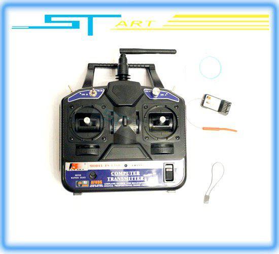 Flysky FS 2.4G 6ch Radyo kontrol Verici Alıcı CT6B 3D RC helikopter uçak için Ücretsiz Gemi