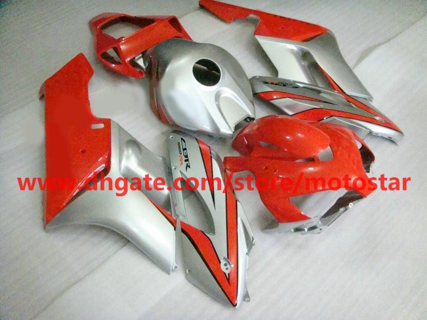 High grade red gary Injection mold fairing kit for Honda CBR1000RR 2004 2005 CBR1000 04 05 RX1D