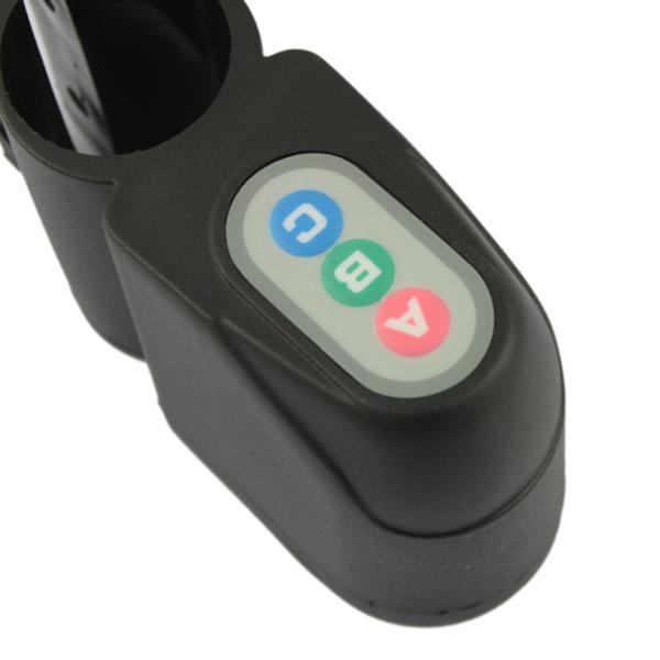 Ny cykelcykelkod Säkerhetslarm 110dB Audible Sound Anti-Theft Digital Lock