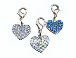 Wholesale Double C Charms - Heart,paw,butterfly,crown,fan,double C shaped dog pendants for collar custom dog tags charms color:c