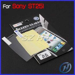 Wholesale Ericsson Xperia U - Transparency Screen Protector for Sony Ericsson ST25i Clear Shiled Film Cover for Xperia U