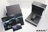 high quality black leather box Gift Box Watches Boxes with Brochures cards box