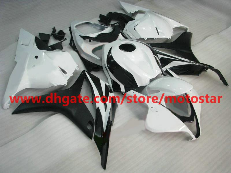 hot sale black Injection mold fairings for CBR600RR 2009 2010 2011 2012 CBR 600 RR F5 09 10 11 RX4A