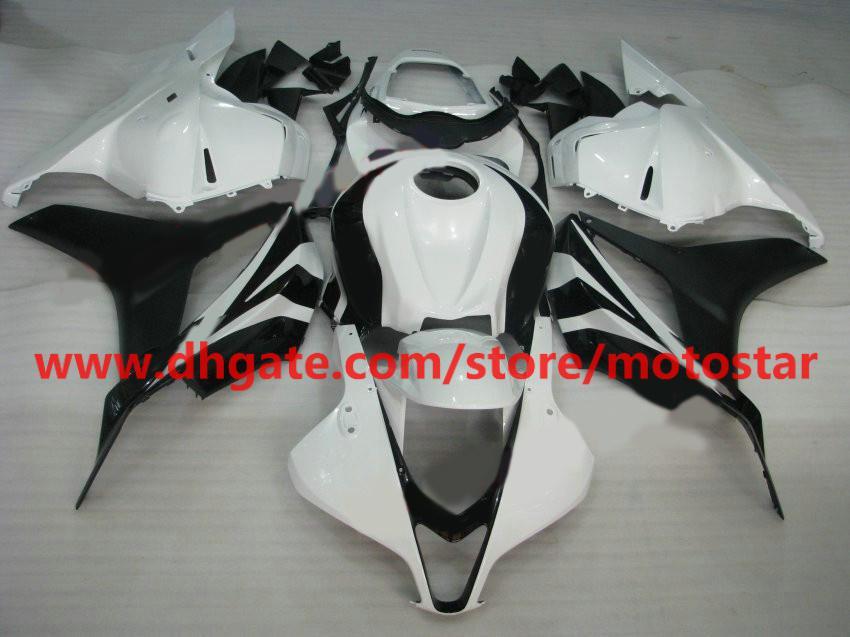 Carénages noirs de moule d'injection de vente chaude pour CBR600RR 2009 2010 2011 2012 CBR 600 RR F5 09 10 11 RX4A
